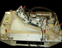 Adhesive fixture bodyside rear lower